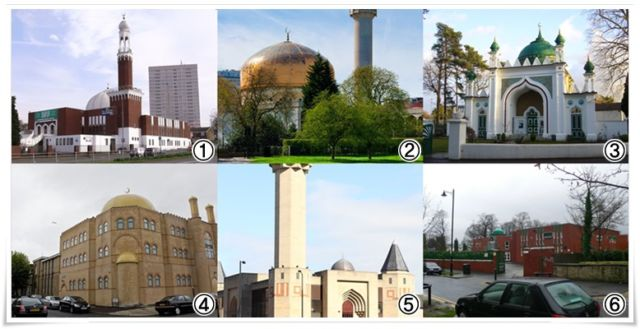 Masjid di Britania