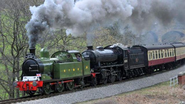 Kereta Api di UK