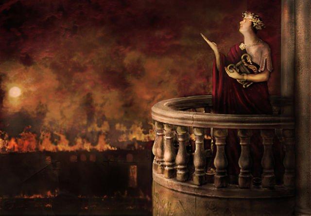 Pigmen merah ciri bangsa Romawi