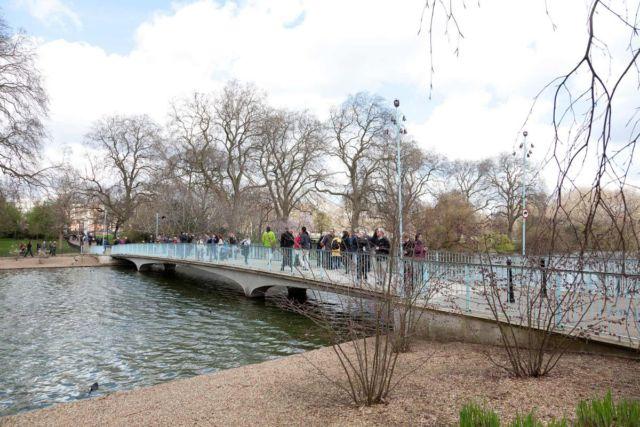Blue Bridge, St James Park