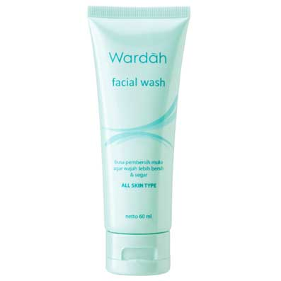 wardah facial wash