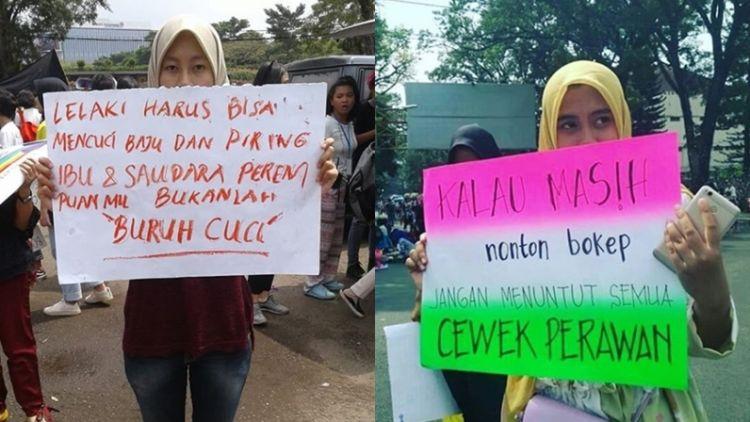 15 Poster Paling Menohok Dalam Aksi Women S March 2018 Beginilah