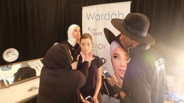wardah di beauty workshop Amerika
