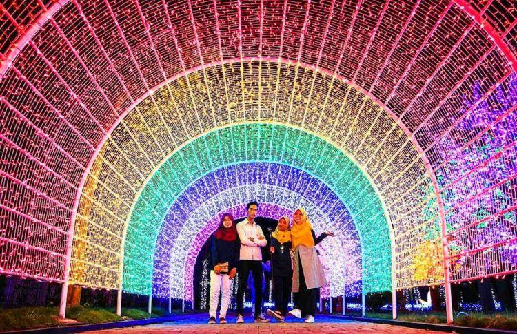 Light Festival Sindu Kusuma Edupark Wisata Hits Di Jogja Yang Sebaiknya Kamu Kunjungi Segera