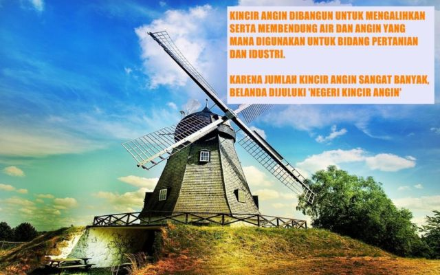 Belanda negeri kincir angin via eskipaper.com