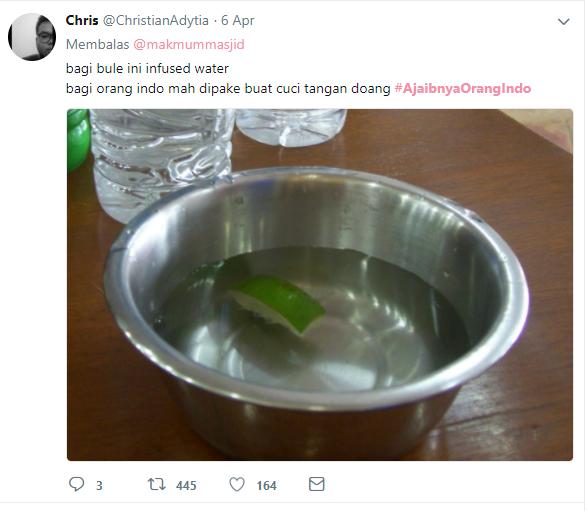 infused water dengan kearifan lokal