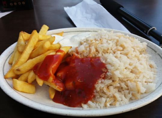 Makanan Turki di Porto, Portugal