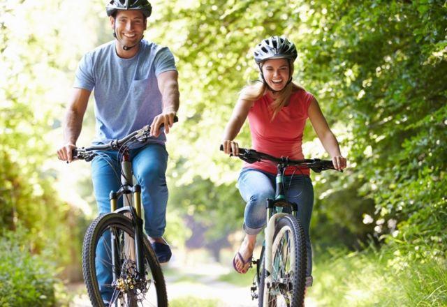 bersepeda setiap pagi