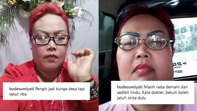16 Caption Ig Bude Sumiyati Yang Guyonannya Ala Emak Emak