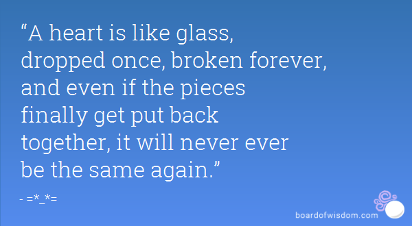 heart like glass