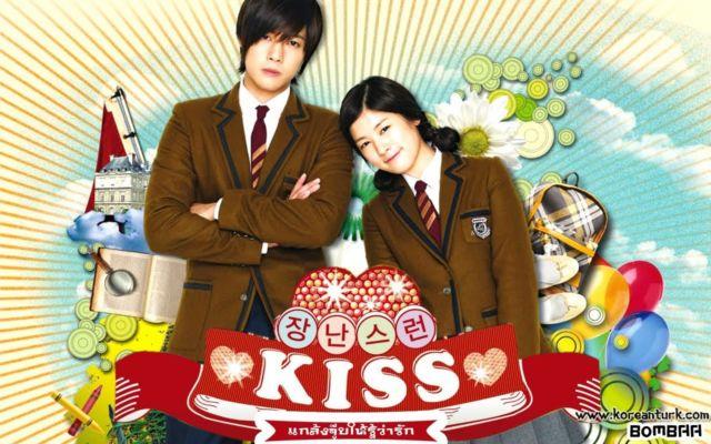 Poster Naughty Kiss