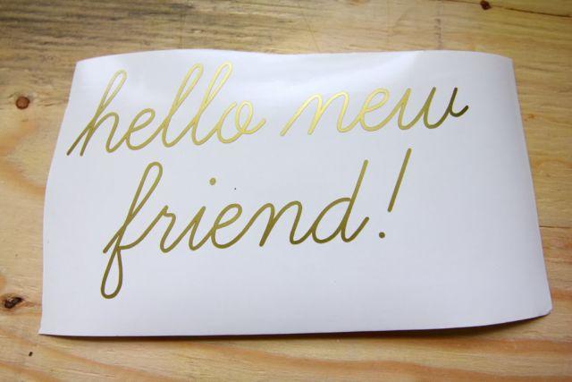 Teman baru