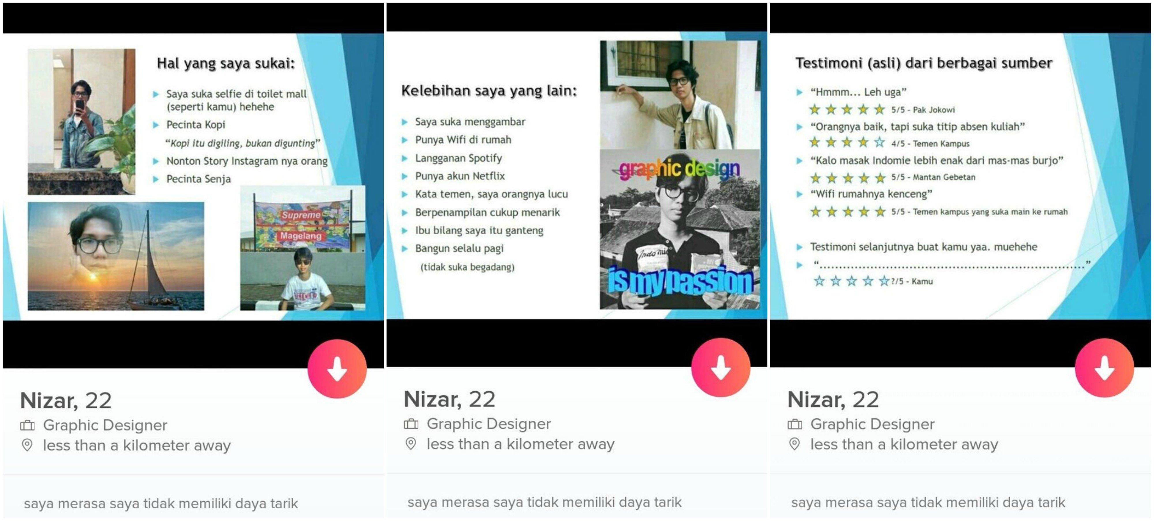 News Menarik Lawan Jenis Nih Presentasi Lengkapnya Nizar Via Twittercom