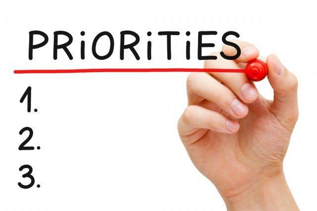 Buat list prioritas materi
