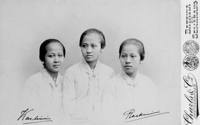 R.A Kartini bersama sahabat