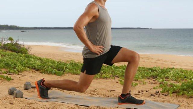 Melatih Otot Kaki dan Keseimbangan
