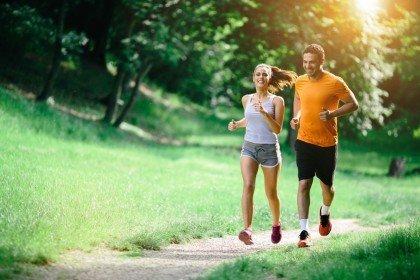 jogging di pagi hari 30 menit sehari!