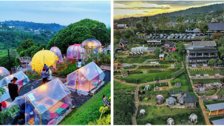 Lereng Anteng Panoramic Coffee Cafe Kekinian Dengan