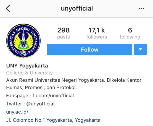 Instagram Uny Official