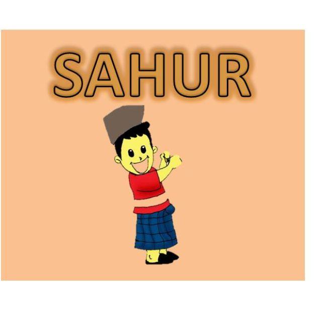Gambar kartun ramadan