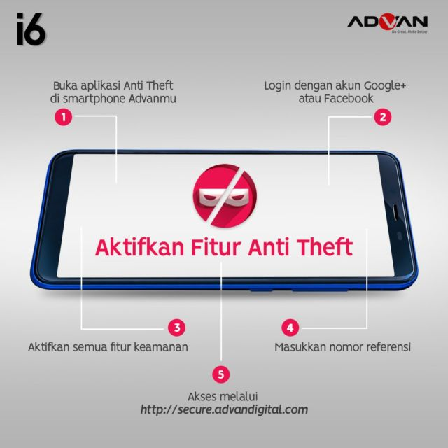 fitur yang menjaga keamanan smartphone