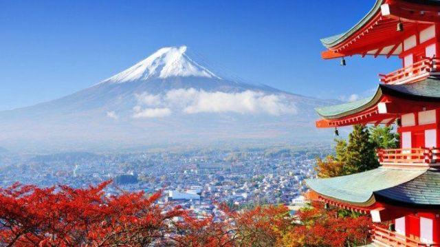 Guung Fuji di Jepang