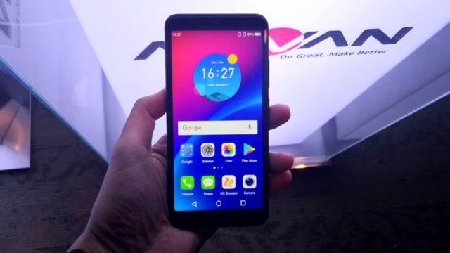 Advan i6 smartphone generasi milenial dan gen z indonesia