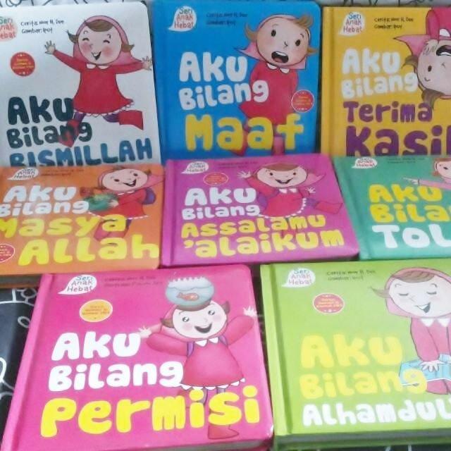 beberapa koleksi buku seri anak hebat