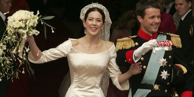 Pernikahan Putri Mary dan Pangeran Frederik tahun 2004
