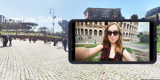 Kamera Selfie Advan i6