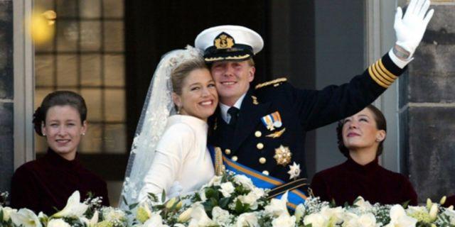 Pernikahan Raja Willem-Alexander dan Ratu Máxima tahun 2002