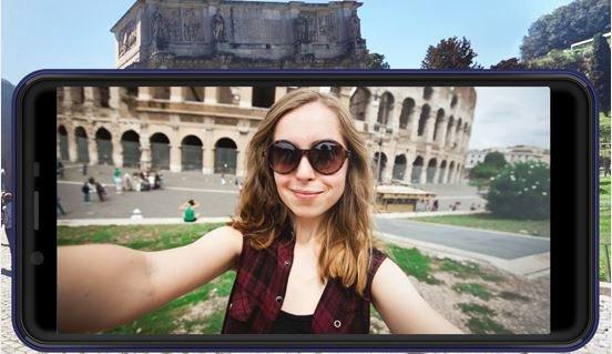 Selfie with Advan I6