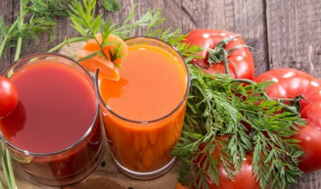 Nikmatnya jus tomat yang murah meriah