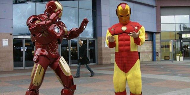 Iron Man atau Busa Man?