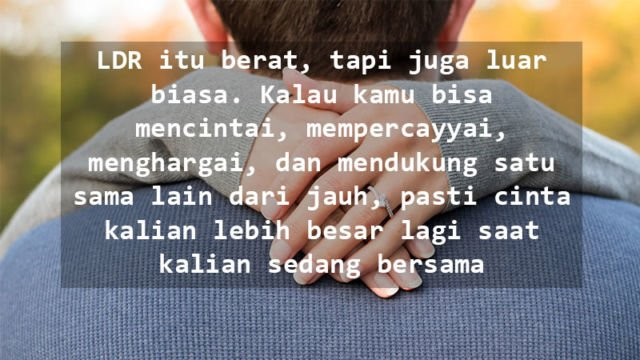 Quote Cinta Jarak Jauh 74 Quotes X