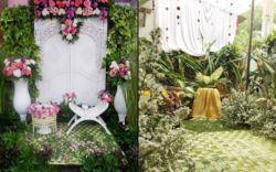 14+ ide dekorasi siraman di halaman rumah, sedap dipandang