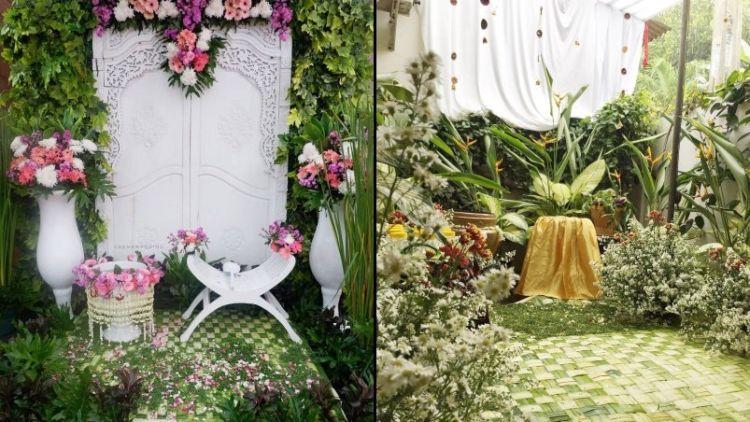 14 Ide Dekorasi Siraman Di Halaman Rumah Sedap Dipandang