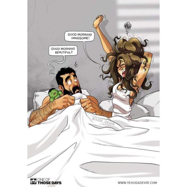 80 Gambar Animasi Lucu Suami Istri Terlihat Keren