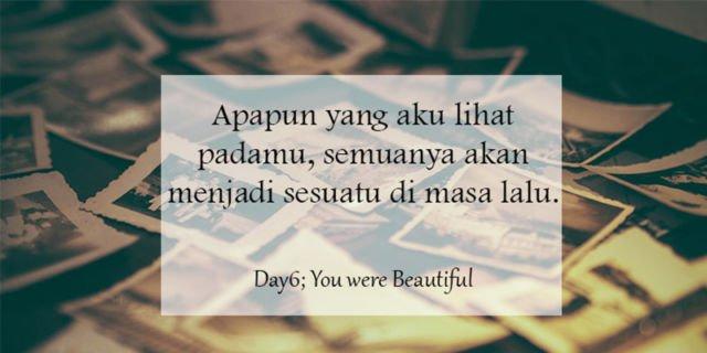 Day6 – You Were Beautiful