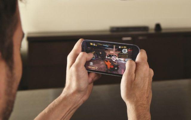 Bermain Game Mobile