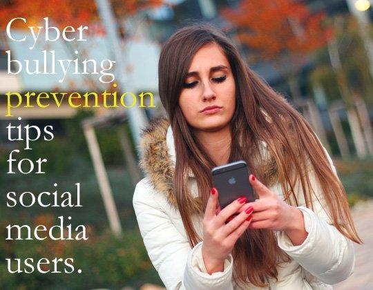 tips cyber bullying on social media