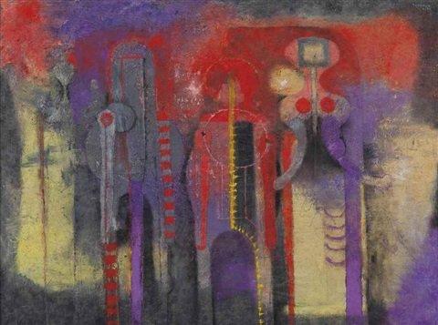 Lukisan tres presonanjes ditemukan di tempat sampah