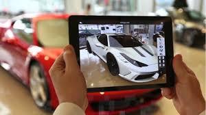 Augmented Reality pada Industri otomotif