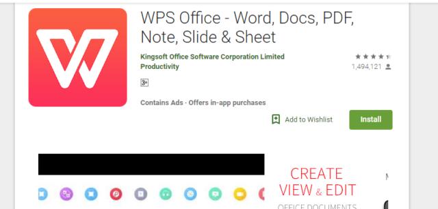 Aplikasi WPS Office