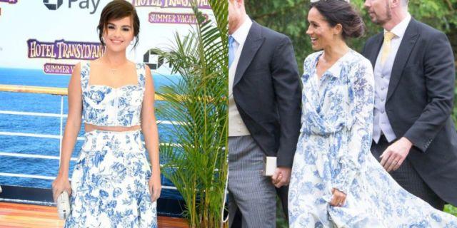 Bajunya Selena sama dengan Meghan?