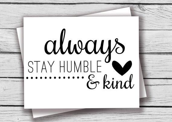 tetaplah ramah dan perlakukan semua orang dengan baik