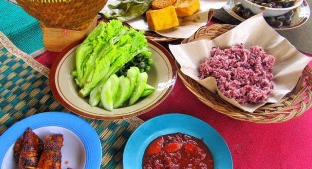 Nasi Merah Punclut Bandung