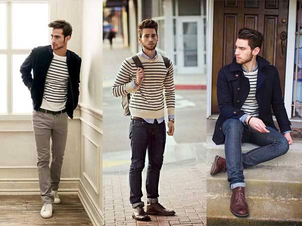 Gaya-pakaian-garis-atau-stripes