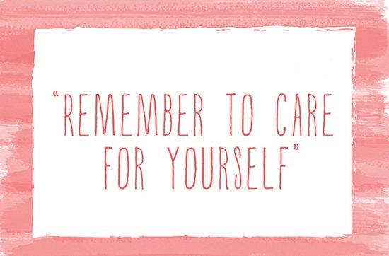 sayang diri sendiri