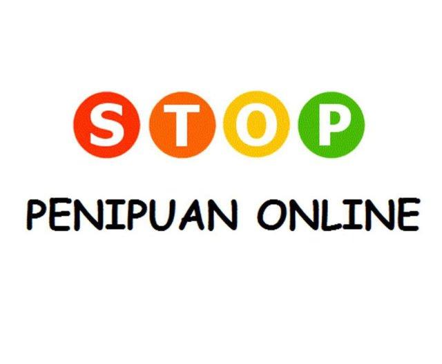 Stop penipuan online